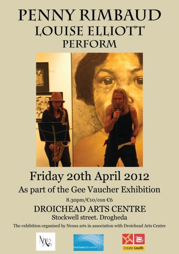 Penny Rimbaud - Louise Elliott - Droichead Arts Centre