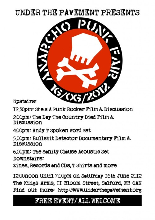 Anarcho-Punk-Fair - 2012