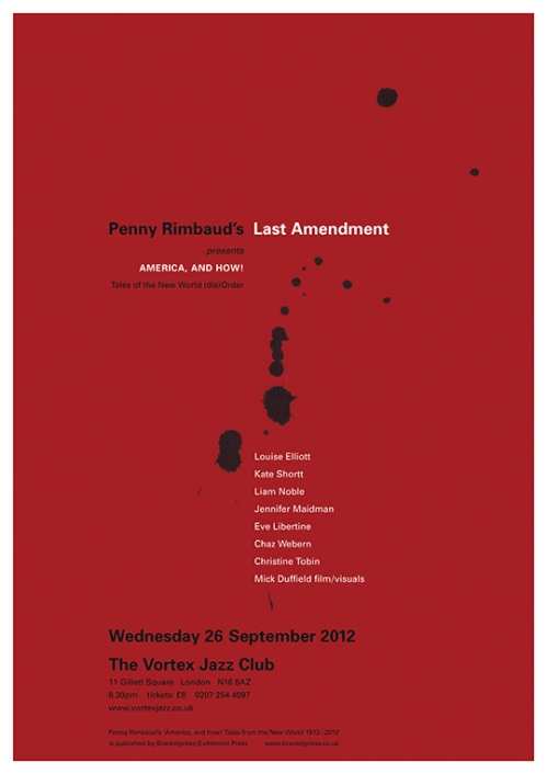 Last Amendment - The Vortex - 26 September 2012