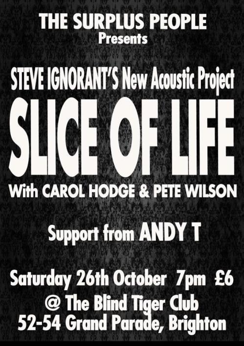 Slice of Life, Brighton, 26 October 2013