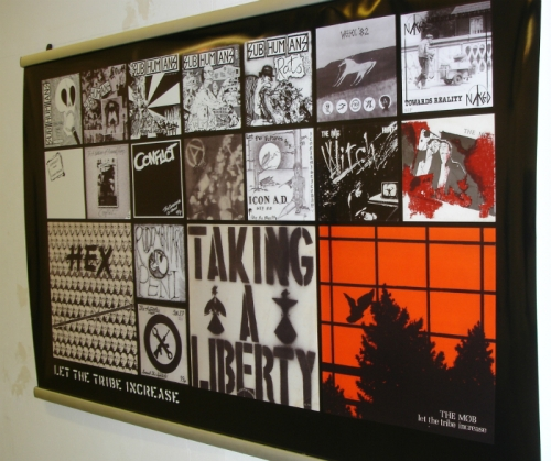 Panel from the exhibition at the No Sir, I Won't conference, Oxford Brookes, 28 June 2013