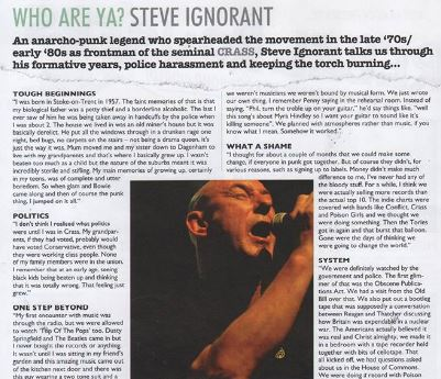 Steve Ignorant - Vive Le Rock - No 16