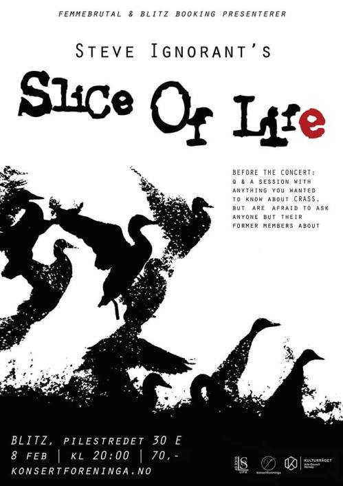 Slice of Life - Oslo - 8 February 2014