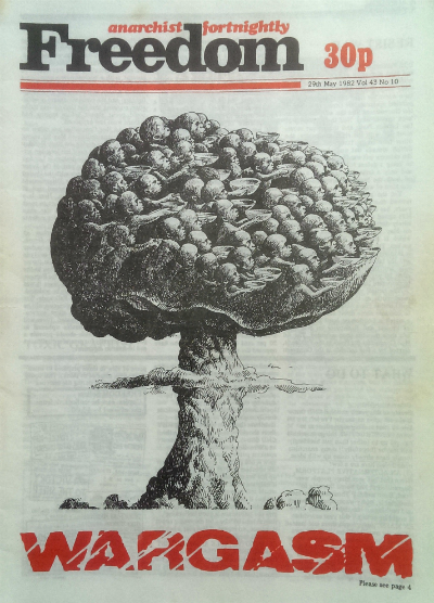 Freedom front cover, 29 May 1982