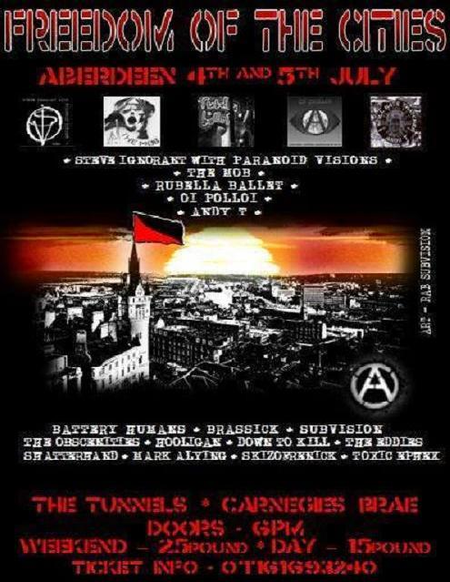 Freedom of the Cities - Aberdeen - 4-5 July 2014