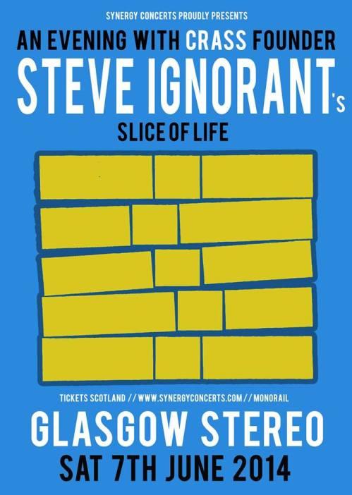 Slice of Life, Glasgow, 7 June 2014