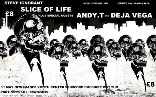 Slice of Life, Andy T, Deja Vega, 11 May 2014 - poster B