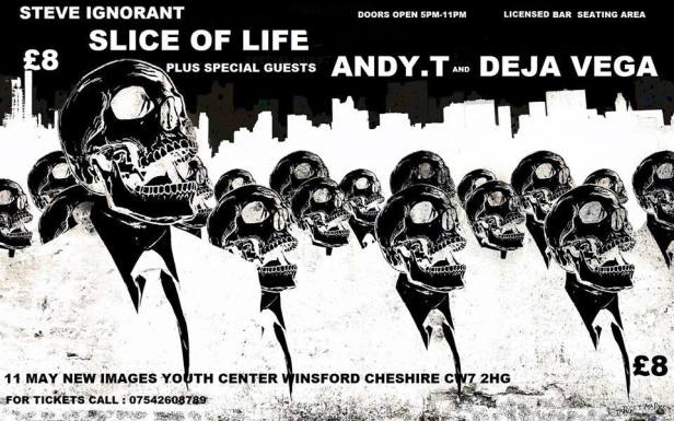 Slice of Life, Andy T, Deja Vega, 11 May 2014 - poster B