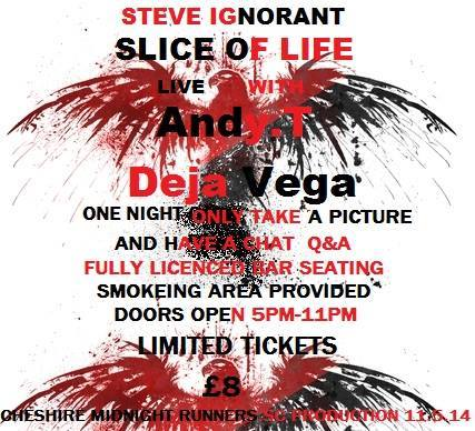 Slice of Life, Andy T, Deja Vega, 11 May 2014 - poster A