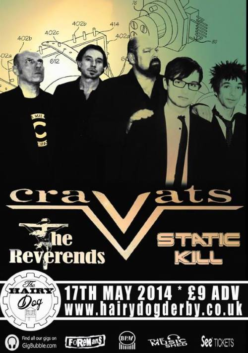 The Cravats, Derby, 17 May 2014