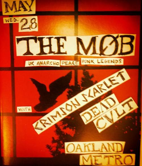 The Mob - Canada and west-coast US tour