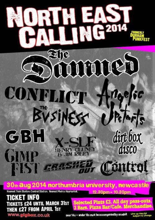 North East Calling - 2014