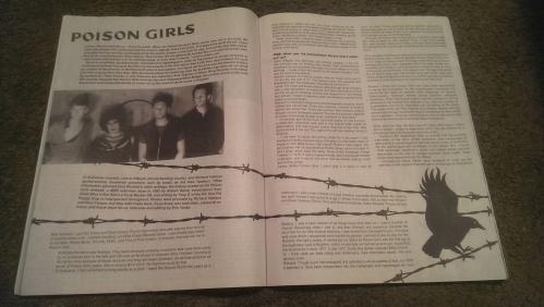 Poison Girls feature - MAXIMUM ROCKNROLL - #379 - December 2014