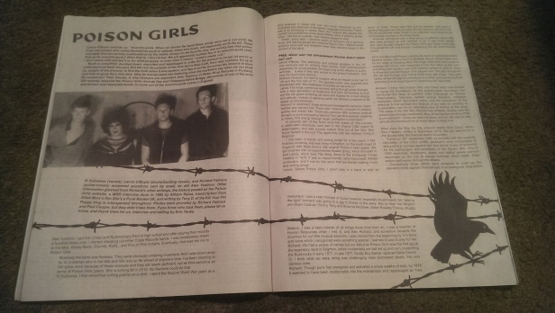 Poison Girls feature - MAXIMUM ROCKNROLL - #379 - December 2014