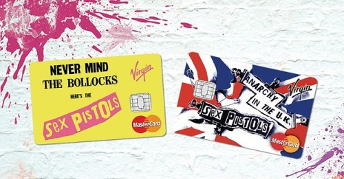 Sex Pistols - credit cards