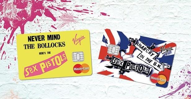 Sex Pistols - credit cards