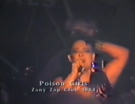 Dare to Dream - Poison Girls - live 1984