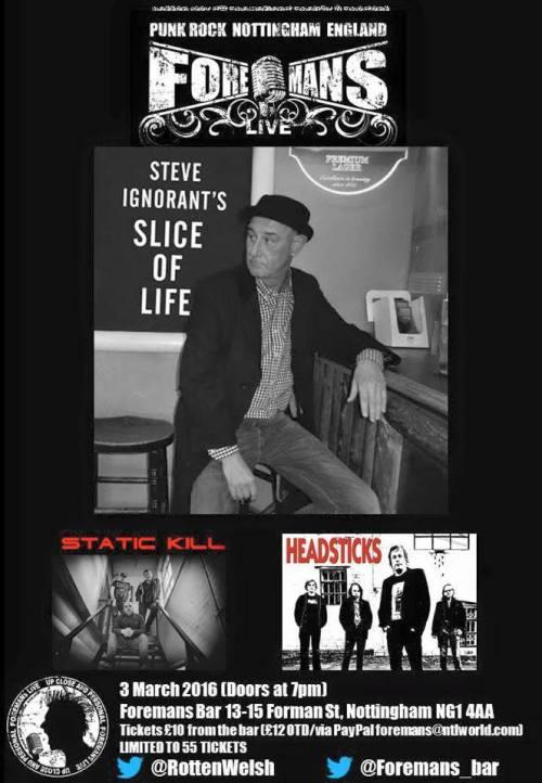 Slice of Life - Nottingham - 3 March 2016