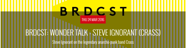 Steve Ignorant - in conversation - Brussels - 24 March 2016