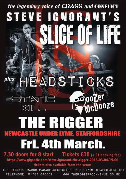 Slice of Life - Newcastle - 4 March 2016