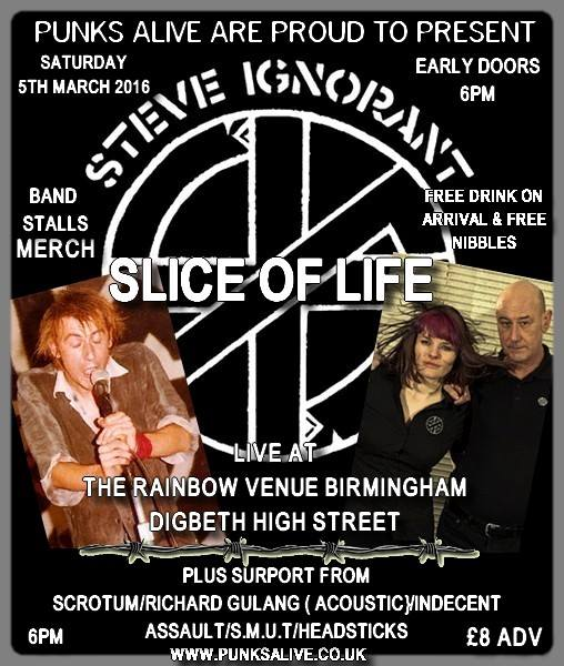 Slice of Life - Birmingham - 5 March 2016