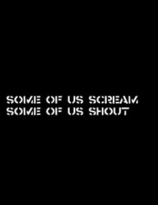 Cover of Some of Us Scream, Some of Us Shout