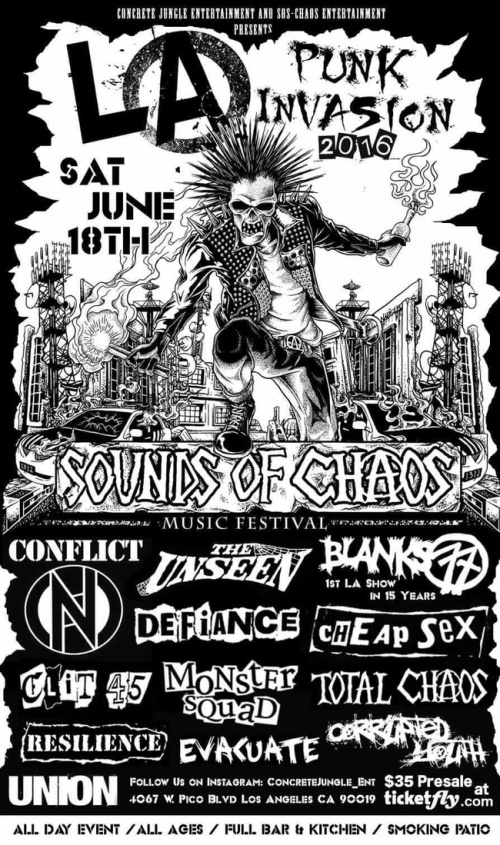 Conflict - LA Punk Invasion - 2016