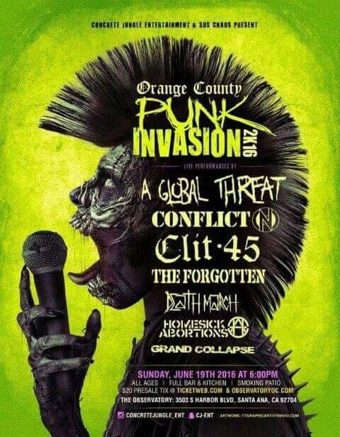 Conflict - Orange County - 2016