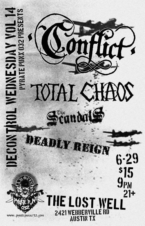 Conflict - Austin, Texas - 2016
