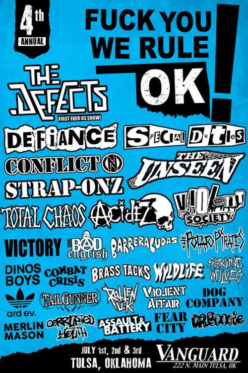 Conflict - FYWROK festival - 2016