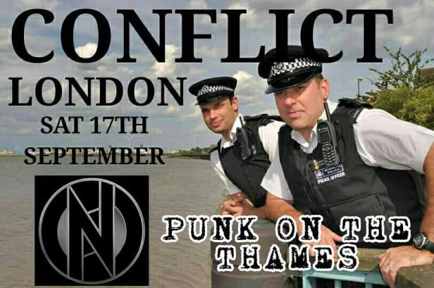 Conflict - punk on the Thames - Trespass #2