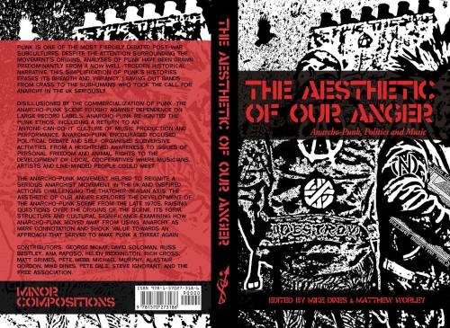 Front and back cover of The Aesthetic of Our Anger - Anarcho-Punk, Politics and Music