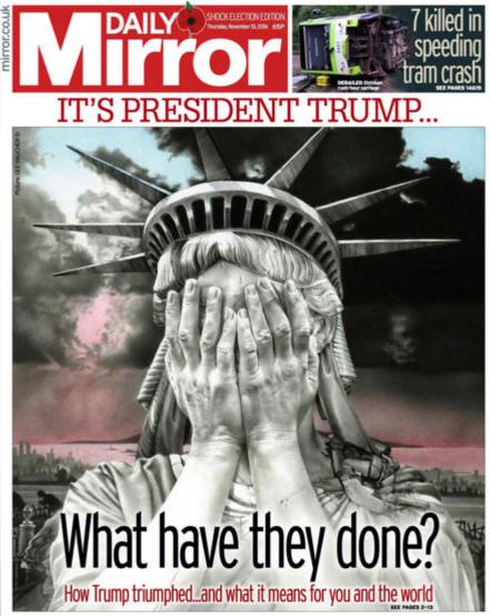 Daily Mirror - 10 November 2016