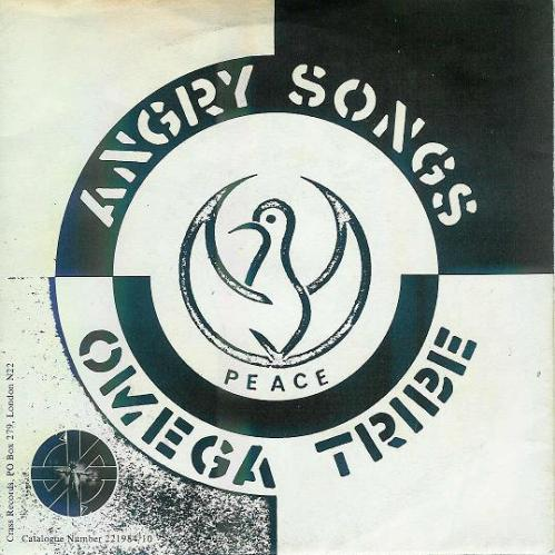 Omega Tribe - Angry Songs - sleeve