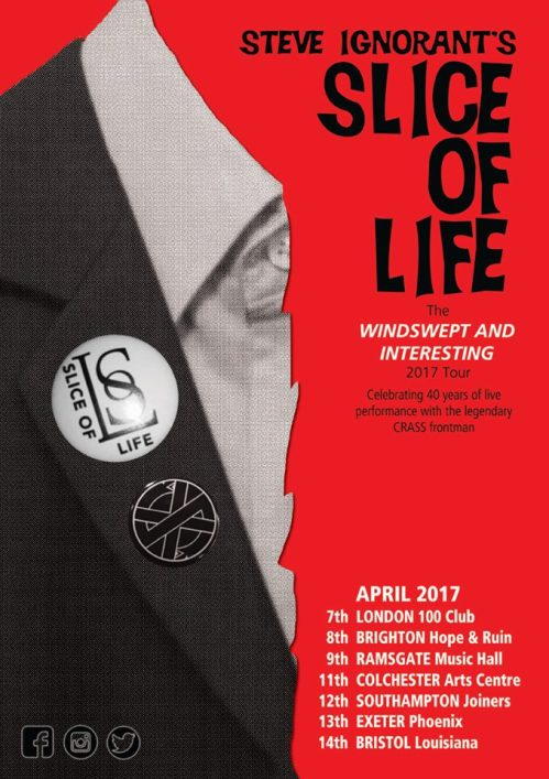 Slice of Life Tour dates - March 2017