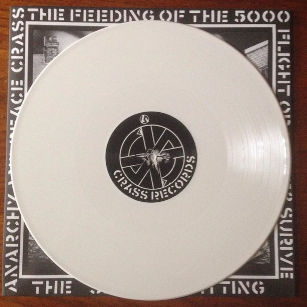 Feeding of the 5000 - white vinyl - March 2017