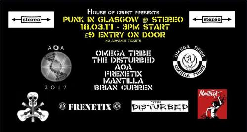 Omega Tribe - Glasgow - 18 March 2017