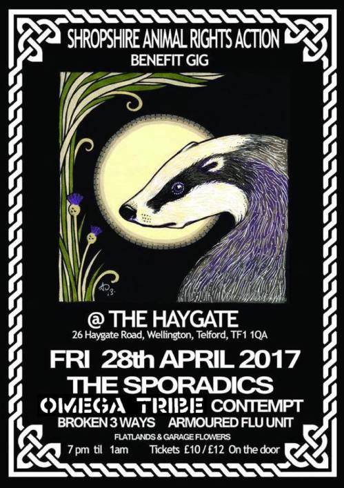 Omega Tribe - Shropshire - 28 April 2017