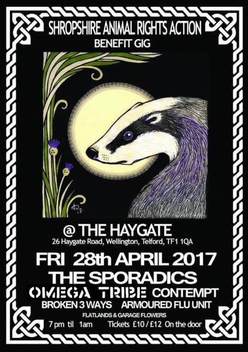Omega Tribe - Shropshire - 28 April 2017