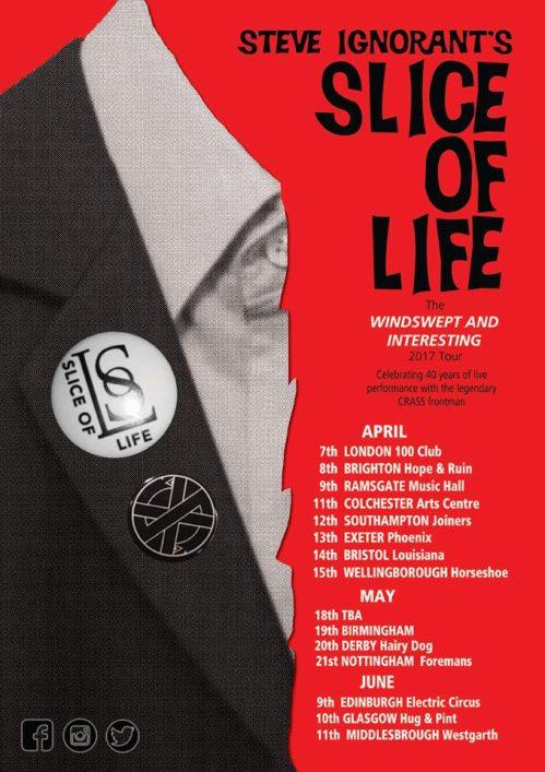 Slice of Life - Windswept and Interesting - new dates