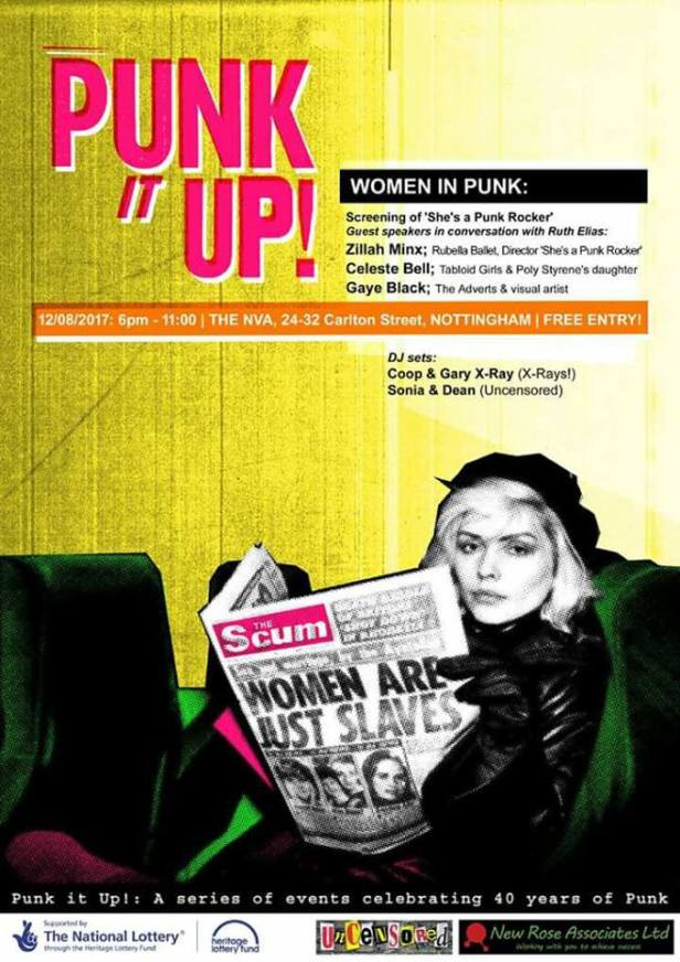 Women in Punk - poster - Punk It Up!
