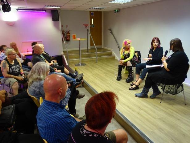 Zillah Minx, Gaye Black, Ruth Elias - Women in Punk - Punk it Up - Nottingham - 12 August 2017