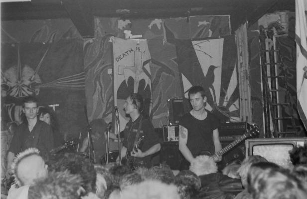 Dirt, live at The Bunker, Stockton Road, 1984. Photo by Marnie Burden