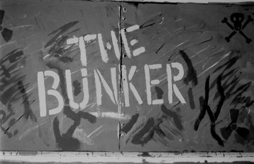 Graffiti at The Bunker, Green Terrace, 1982