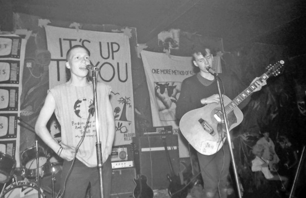 Passion Killers, The Bunker, Stockton Road, 1984. Photo by Andrew Medcalf.