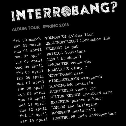 Interrobang tour dates 2018