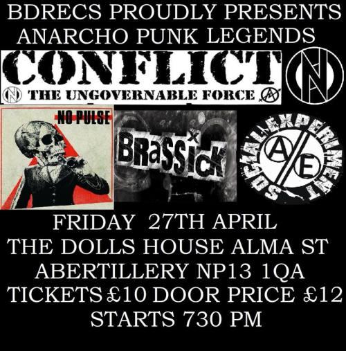 Conflict - 27 April 2018