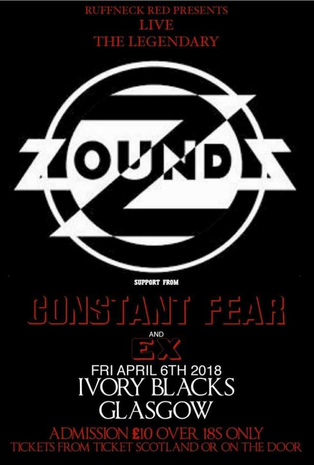 Zounds - 6 April 2018