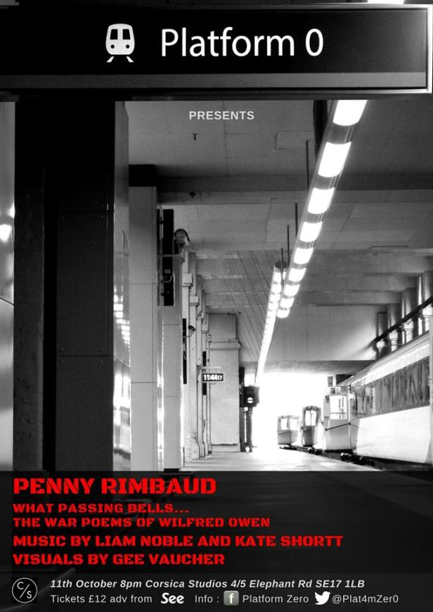 Platform Zero Presents Penny Rimbaud
