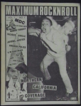 Maximum Rocknroll - Volume 1 - Issue 1 - cover